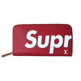 Louis Vuitton x Supreme Zippy Organizer M67720 Epi Leather