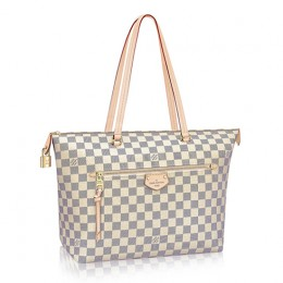 Louis Vuitton Iena MM N44040 Damier Azur Canvas