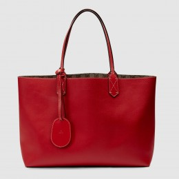 Gucci Red Reversible GG Medium Tote