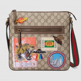 Gucci Courrier Soft GG Supreme Messenger Bag