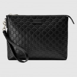 Gucci Black Signature Soft Men's Bag
