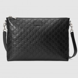 Gucci Black Signature Soft Messenger