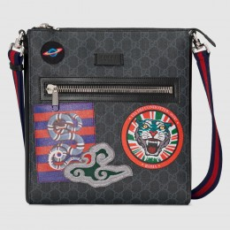 Gucci Night Courrier GG Supreme Messenger Bag