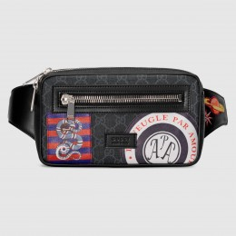 Gucci Night Courrier Soft GG Supreme Belt Bag