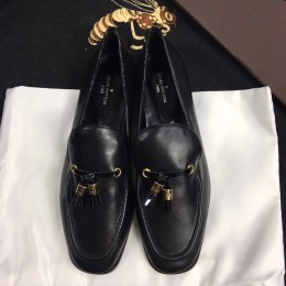 Louis Vuitton Black Leather Society Loafer 2017 (GD5002-7082330 )
