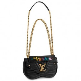 Louis Vuitton Black New Wave Chain Bag PM M51683
