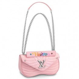 Louis Vuitton Pink New Wave Chain Bag MM M51944