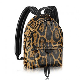 Louis Vuitton M52020 Palm Springs Backpack PM Wild Animal Printed Canvas