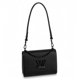 Louis Vuitton Twist MM All Black Epi M53236