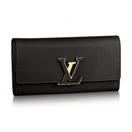 Louis Vuitton M61248 Capucines Wallet Taurillon Leather
