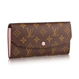 Louis Vuitton M61289 Emilie Wallet Monogram Canvas