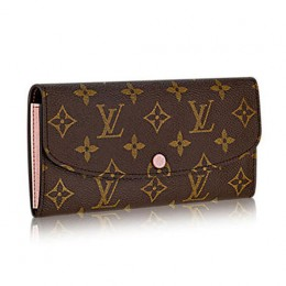 Louis Vuitton M61447 Emilie Wallet Monogram Canvas