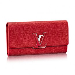 Louis Vuitton M61471 Capucines Wallet Taurillon Leather