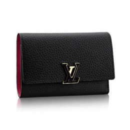 Louis Vuitton M62157 Capucines Compact Wallet Taurillon Leather