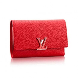 Louis Vuitton M62158 Capucines Compact Wallet Taurillon Leather