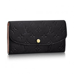 Louis Vuitton M62369 Emilie Wallet Monogram Empreinte Leather