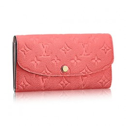 Louis Vuitton M62370 Emilie Wallet Monogram Empreinte Leather
