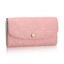 Louis Vuitton M64084 Emilie Wallet Monogram Empreinte Leather