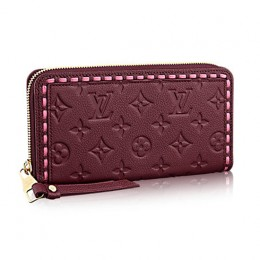 Louis Vuitton M64803 Zippy Wallet Monogram Empreinte Leather