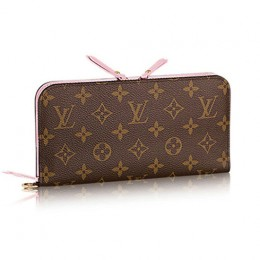 Louis Vuitton M66567 Portefeuille Insolite Wallet Monogram Canvas