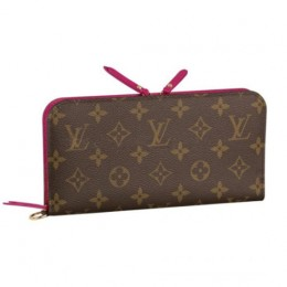 Louis Vuitton M66701 Portefeuille Insolite Wallet Monogram Canvas