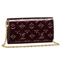 Louis Vuitton M90088 Chain Wallet Monogram Vernis