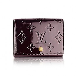 Louis Vuitton M91409 Business Card Holder Monogram Vernis
