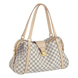 Louis Vuitton N42221 Stresa GM Shoulder Bag Damier Azur Canvas
