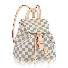 Louis Vuitton N44026 Sperone BB Backpack Damier Azur Canvas