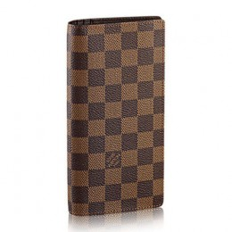 Louis Vuitton N60017 Brazza Wallet Damier Ebene Canvas